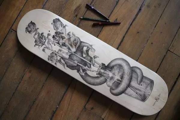 法国艺术家Steeven Salvat他奇思妙想的画令人折服,线描画